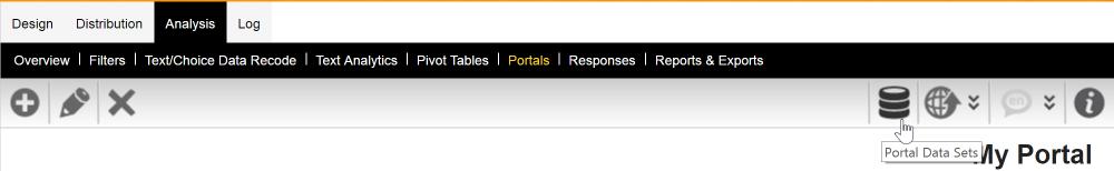 Portal Data Sets
